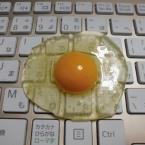 フェイクフード生卵の作り方(動画あり)