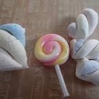 粘土でねじりスイーツ2種の作り方☆動画あり