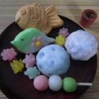 粘土でつくるいろんな和菓子(動画あり)