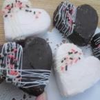 粘土のハートチョコパイ作り方 動画あり!