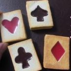 100均の型と粘土で作るトランプクッキー 動画
