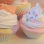 100均紙粘土で♪カラフルカップケーキ 作り方動画
