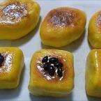 100均ねんどで作るスイーツポテト2種 マグネット
