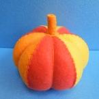 フェルト まるから かぼちゃ オレンジバージョン