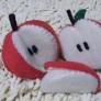 フェルト りんご