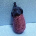 羊毛フェルト なす