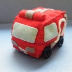 100円均一 フェルトキット 消防車