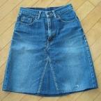 リメイク♪ジーンズスカート