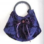 紫の和柄バッグ~✿