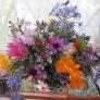庭の花❁のアレンジメント