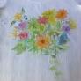 Tシャツの水彩画❁
