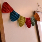 編み編みガーランド