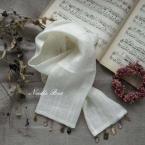 リネン& Bead のスカーフ