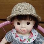 ぽぽちゃん用ニット帽