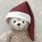 簡単サンタ帽子の作り方(人用のも作れます)