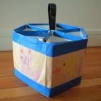 リサイクル鉛筆立て