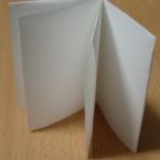 1枚の紙で8Pのミニブック