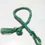 2色組み紐のブレスレット