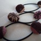 毛糸くるみボタンゴム
