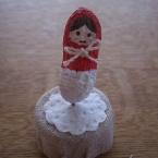 マトリョーシカの落花生人形
