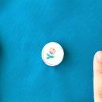 【基本の縫い方】くるみボタンの付け方