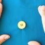 【基本の縫い方】4つ穴ボタンの付け方