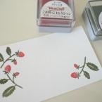 一版刷りのメッセージカード