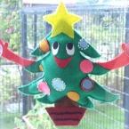 フェルトのクリスマス飾り
