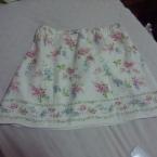 とってもキュートな花柄スカート