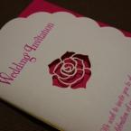 薔薇の結婚式招待状☆