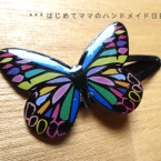 浴衣に♪蝶のヘアアクセ!