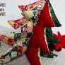布のクリスマスツリー☆2016