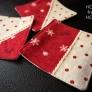 クリスマス☆コースター赤