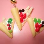 フルーツいっぱいクレープ
