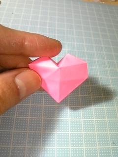 ハート 折り紙