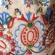 民族模様の刺繍入り麻ポーチ