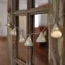 手作りインテリア💡円錐のランプシェード