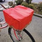 自転車カゴカバー。