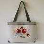 ハンガリーの花刺繍バッグ