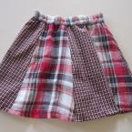 リフォーム幼児の8枚剥ぎのスカート(サイズ90)