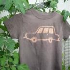 草木染めでTシャツを染める