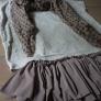 チュールのアンダースカート