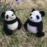 PALMy Panda あみぐるみ パンダ
