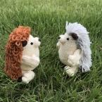 PALMy Hedgehog ハリネズミあみぐるみ