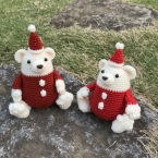 PALMy Santa Bear / サンタベア