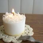 スウィ―ツキャンドル:ホワイトチョコケーキ