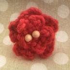 簡単♪お花のリング(かぎ針編み)