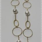 コットンパールのネックレス