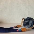 一眼レフ*カメラストラップの作り方