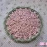八重桜のコースター
